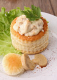 Vol au vent Royalty Free Stock Images
