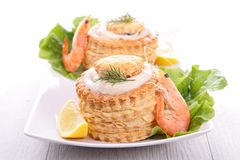 Vol au vent Royalty Free Stock Photography
