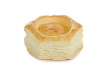 Vol-au-vent pastry shell Royalty Free Stock Photos