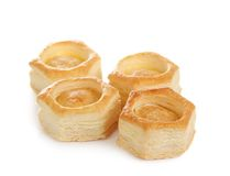 Vol-au-vent pastry shell Stock Image