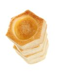 Vol-au-vent pastry shell Royalty Free Stock Photography