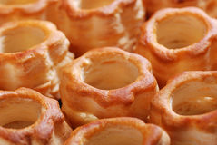 Vol au vent on the table Stock Photography