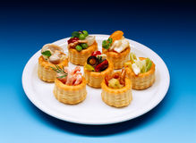 Vol au vents Stock Photos