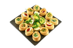 Vol Au Vonts And Camembert Bites Royalty Free Stock Photo