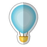 Vol chaud d'air de ballon Images libres de droits