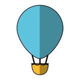 Vol chaud d'air de ballon Image libre de droits