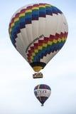 Vol chaud de ballon à air dans Cappadocia, Turquie Images stock