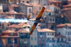 Vol d'avion - chemin Porto 2009 d'air de RedBull Photographie stock