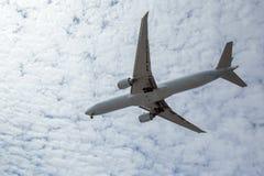 Vol d'avion supplémentaire image stock