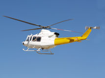 Vol d'hélicoptère Photo stock