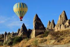 Vol de ballon, Cappadocia, Turquie Photographie stock