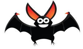 Vol de bande dessinée de chauve-souris Photos libres de droits