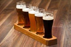 Vol de bière. Photos stock