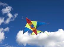 Vol de cerf-volant Images libres de droits