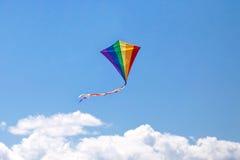Vol de cerf-volant Photo libre de droits