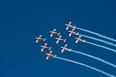 Vol de formation Photo libre de droits