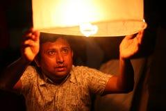 Vol de lanterne pour des martyres Image libre de droits