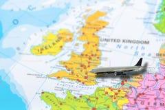 Vol de Londres R-U images libres de droits