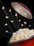 Vol de maïs éclaté Image libre de droits