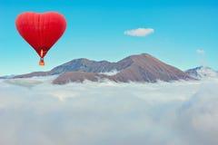 Vol de matin du ballon à air chaud Photographie stock libre de droits