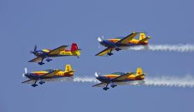 Vol de quartet Photos libres de droits
