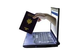 Vol de votre identité Photos libres de droits