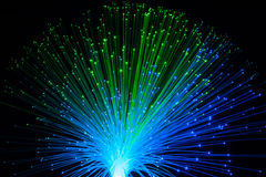 Vol dynamique optique de fibre Photos stock