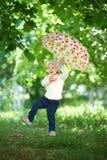 Vol extrême pour le petit enfant Photo stock