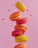 Vol Macarons Photo stock