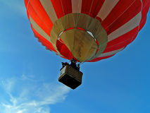 Vol sur l'air-ballon Photo stock