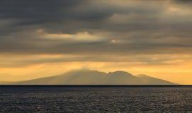 Volacano Agung Στοκ Φωτογραφίες