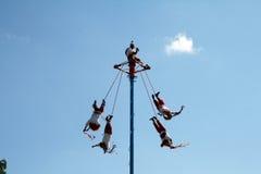 Voladores Royalty Free Stock Photo