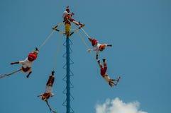 Voladores Photographie stock libre de droits