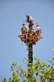 Voladores De Papantla Fotografia Royalty Free
