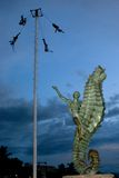 Voladores of Papantla Royalty Free Stock Photography
