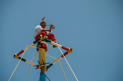 Voladores Stock Photography