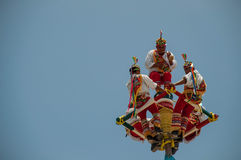 Voladores Royalty Free Stock Photo