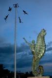 Voladores von Papantla Lizenzfreie Stockfotografie