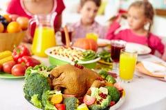 Volaille de thanksgiving Photographie stock libre de droits