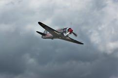 Volando dalla tempesta Fotografie Stock Libere da Diritti