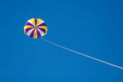 Volando nel cielo Fotografia Stock Libera da Diritti