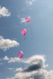 Volando nel cielo Immagini Stock Libere da Diritti