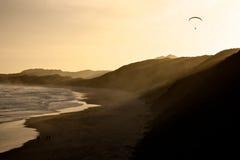 Volando sopra Città del Capo Fotografia Stock Libera da Diritti