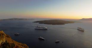 Volano-Insel Stockfoto