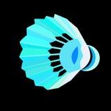 Volant de badminton ou boule de badminton dedans Photos stock