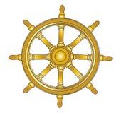 Volant de bateau illustration de vecteur