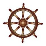Volant de bateau illustration stock