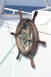 Volant du bateau Image libre de droits