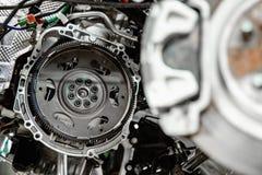Volant pour la transmission automatique de voiture image libre de droits
