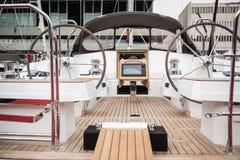 Volante del barco del velo imágenes de archivo libres de regalías